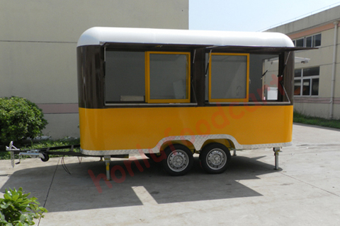 Best food carts trucks trailers with competitive price and for Best food truck designs