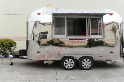 Hot sale mobile airstream food truck