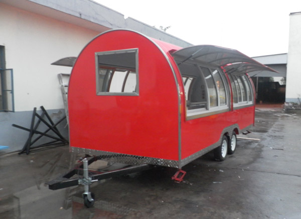 New style food truck for sale Europe food cart food truck with CE