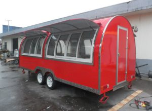 New style food truck for sale Europefood cartfood truck with CE