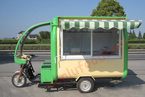 electric food cart for sale