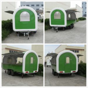 fast food cart trailer for sale