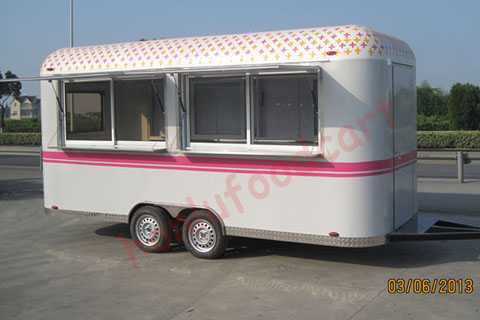 mobile fast food trailer