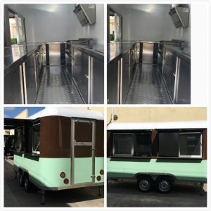 mobile fast food trailer for sale