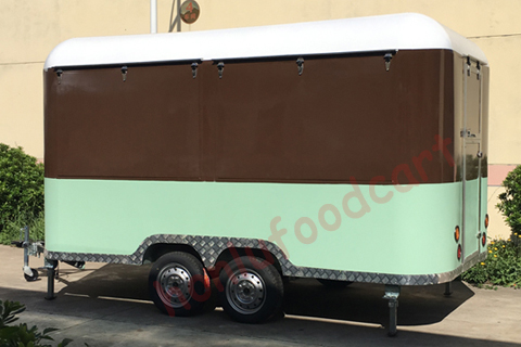 Top quality mobile food carts trailer towable food trailer for sale food truck supplies
