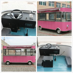 mobile van with crepes for sale