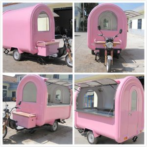 CE approved mobile food cart (1)