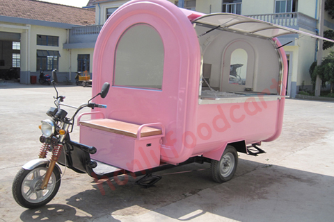 2017New style CE approved mobile food cart halal food truck halal food truck for sale