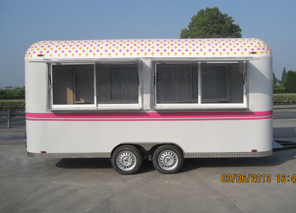 New Arrival outdoor food trailer images mini truck food mobile coffee bike burger stall food trucks