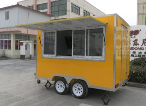 Advantages Of Mobile Cake Food Cart 1 Various Colors The Outside Galvanized Steel Can Be Painted White Black Yellow Red Blue Green Pink