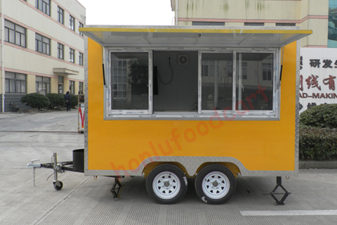 New arrival mobile catering trucks for sale food concession trucks mobile food stand