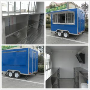 Zhengzhou Mobile Coffee Truck For Sale Frozen Yogurt
