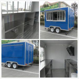 Zhengzhou Mobile Coffee Truck For Sale Frozen Yogurt